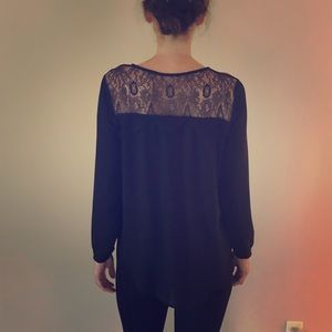 Anthropologie top.  Great for night out!
